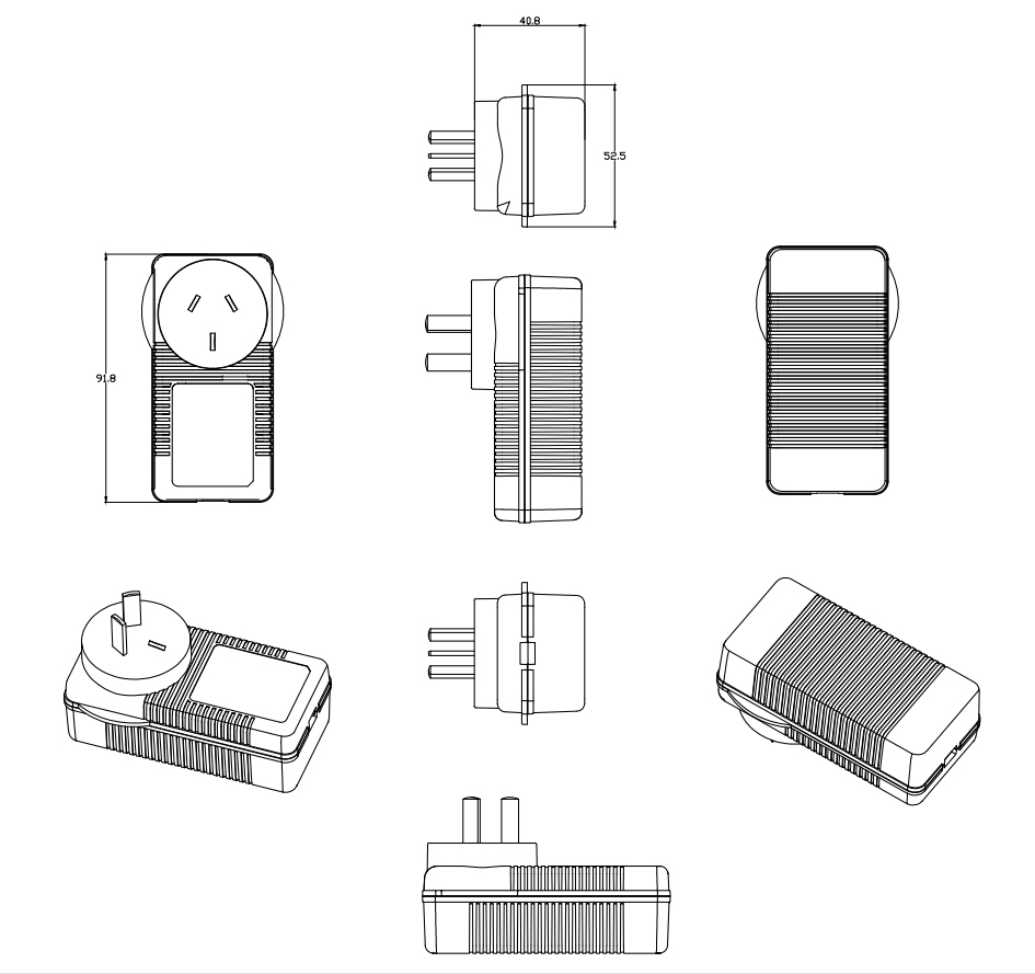 Wall Power Adaptor 13v 2a